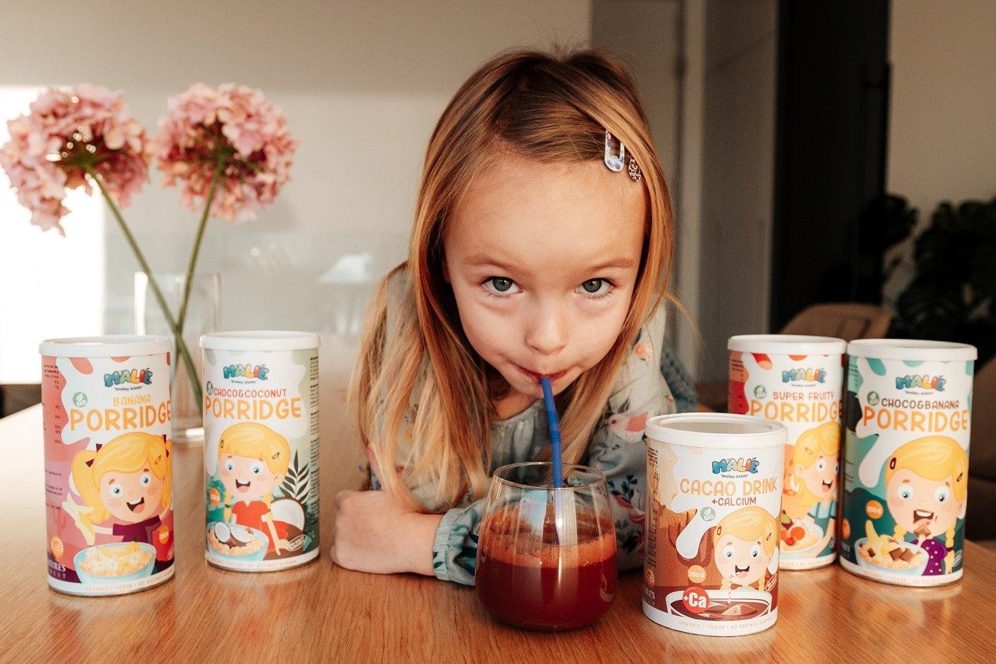 Malie recepti za zdrav otroški zajtrk